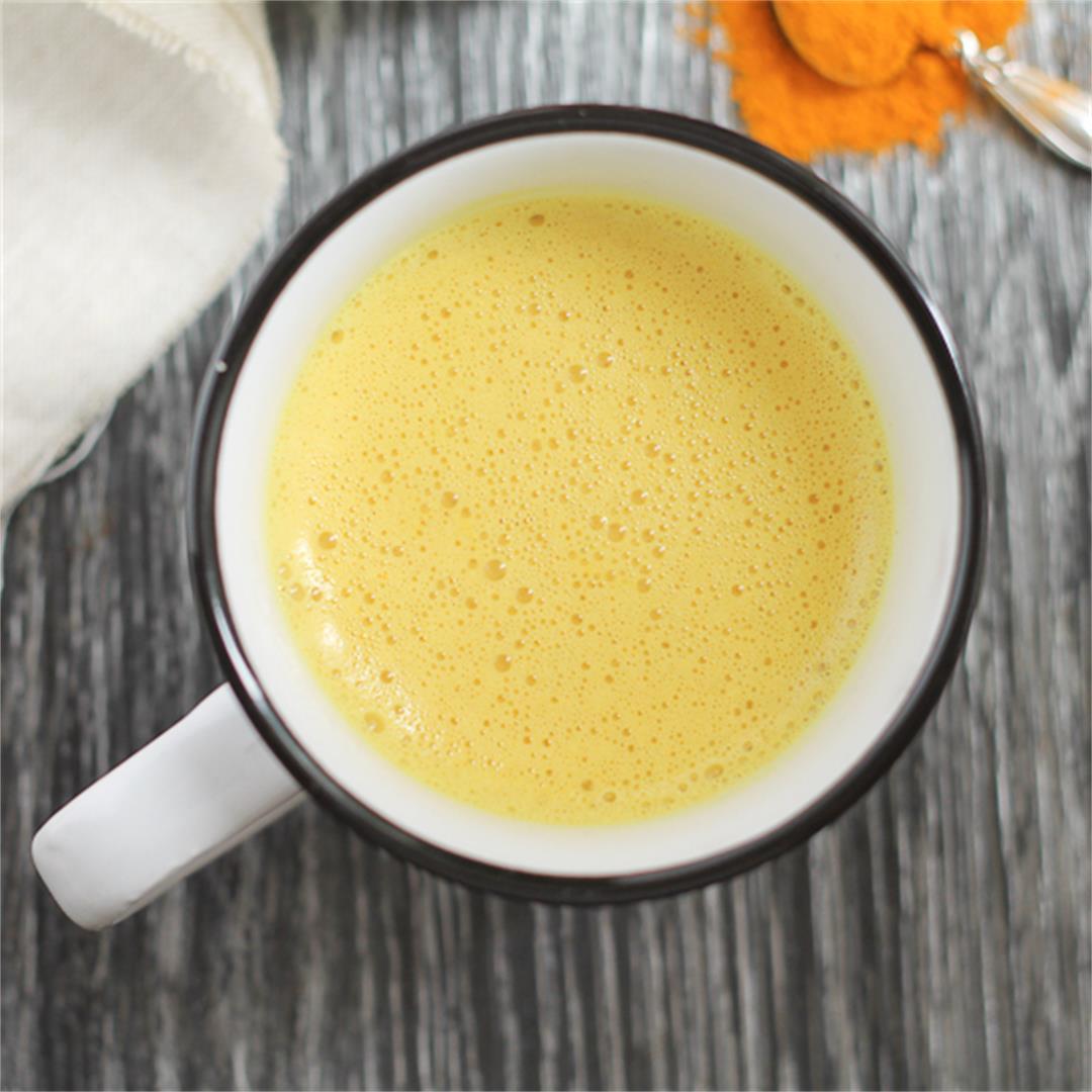 Warm Golden Milk Latte