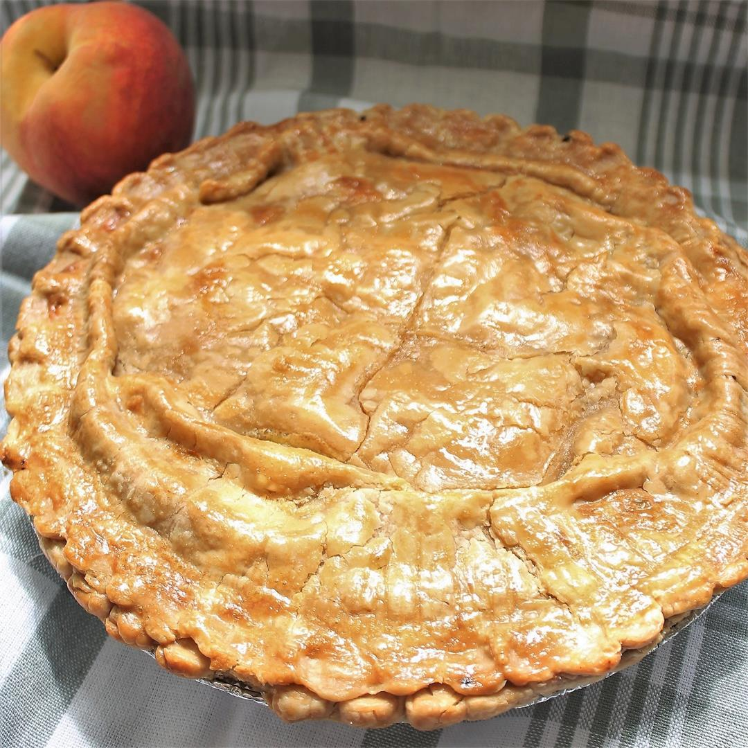 Ultimate Double-Crust Peach Pie