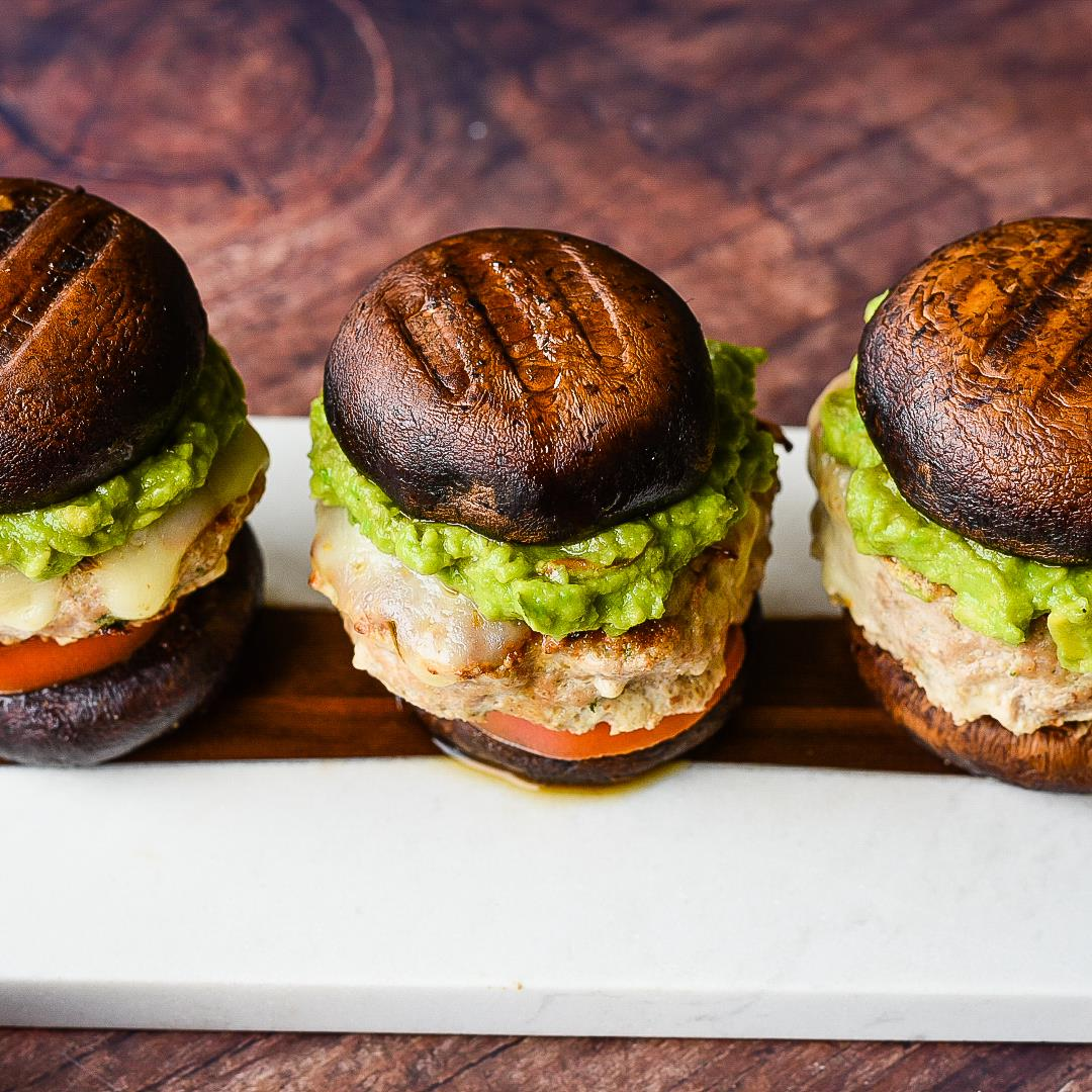 Portobello Turkey Sliders