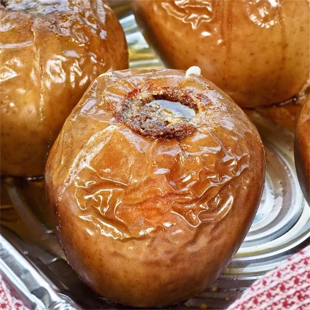 Smoked Grilled Apples Easy Dessert Recipe