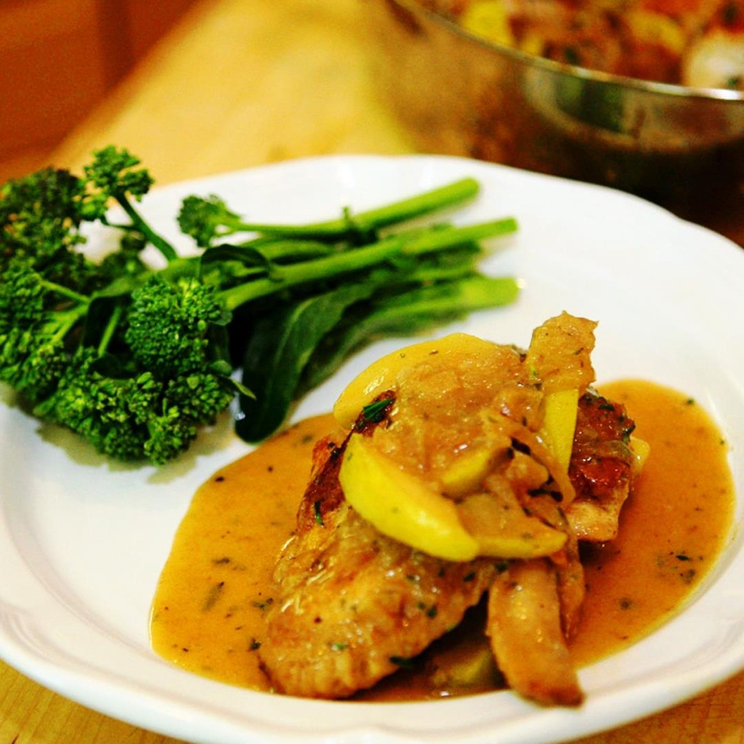 Chicken Normandy is a delicious and healthy chicken recipe