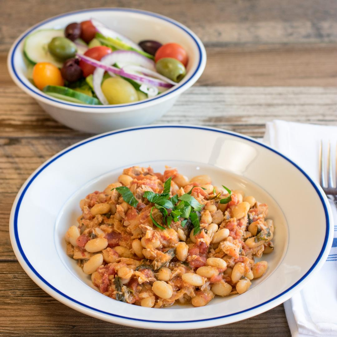 Fagioli e Tonno (beans and tuna)
