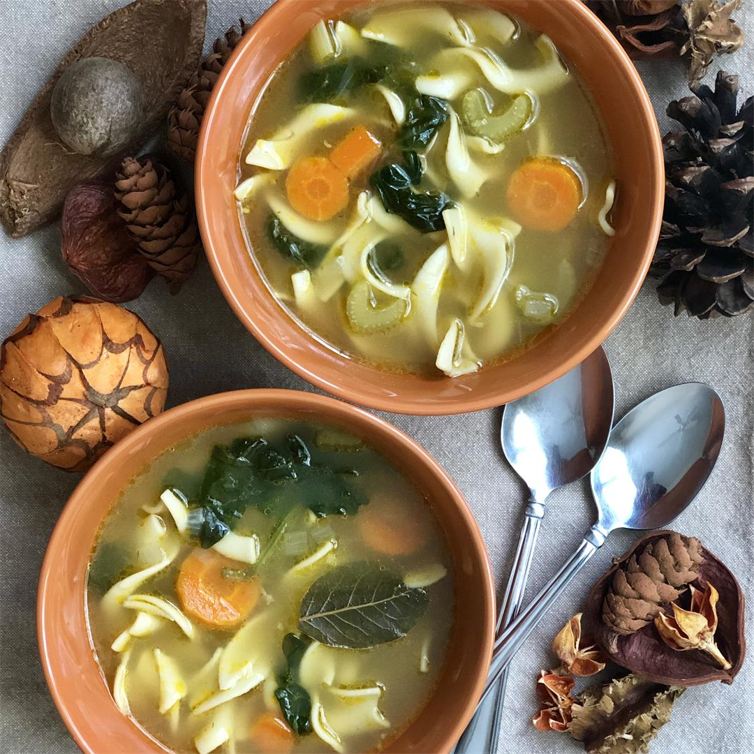 Easy Vegetable Noodle Soup