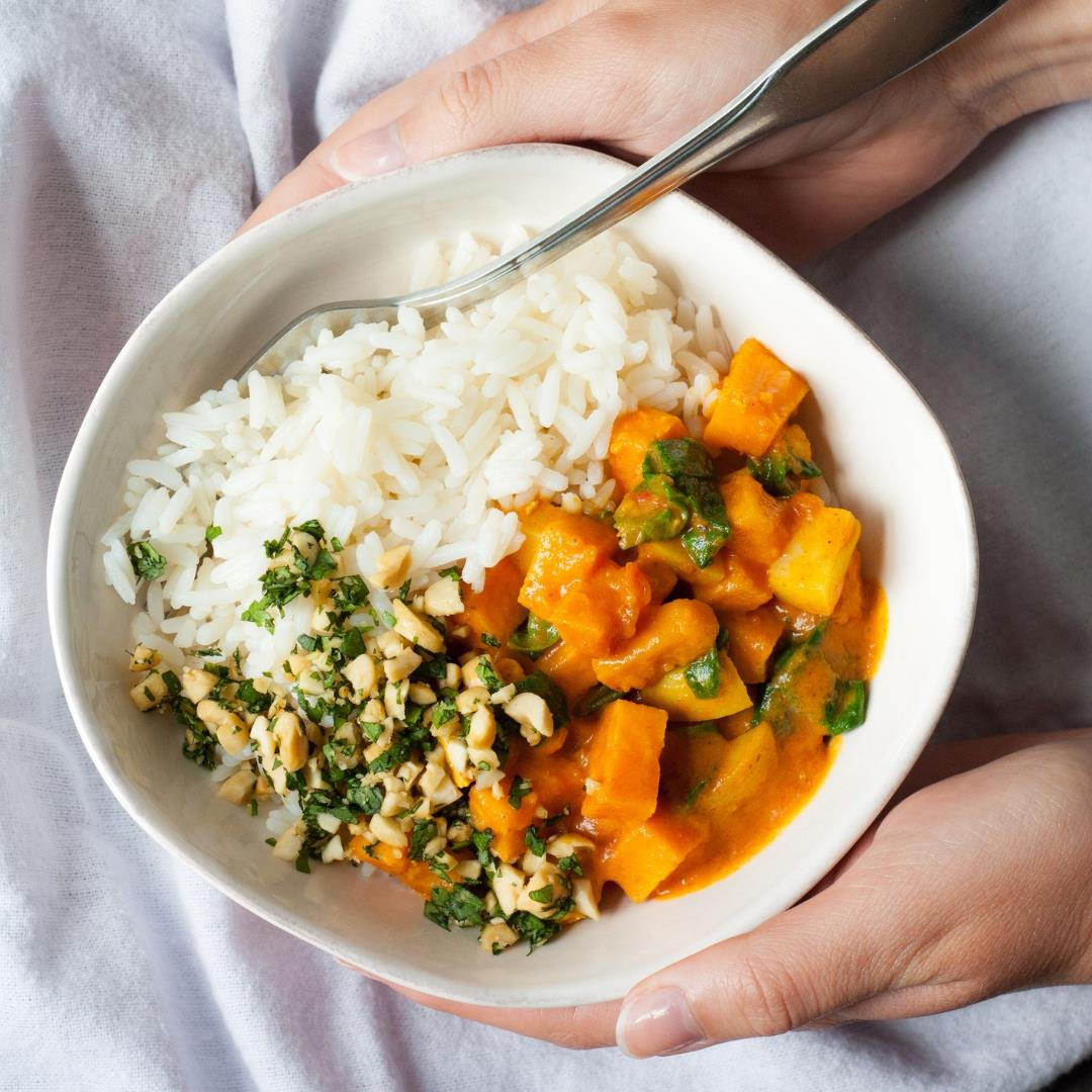 Sweet Potato Curry