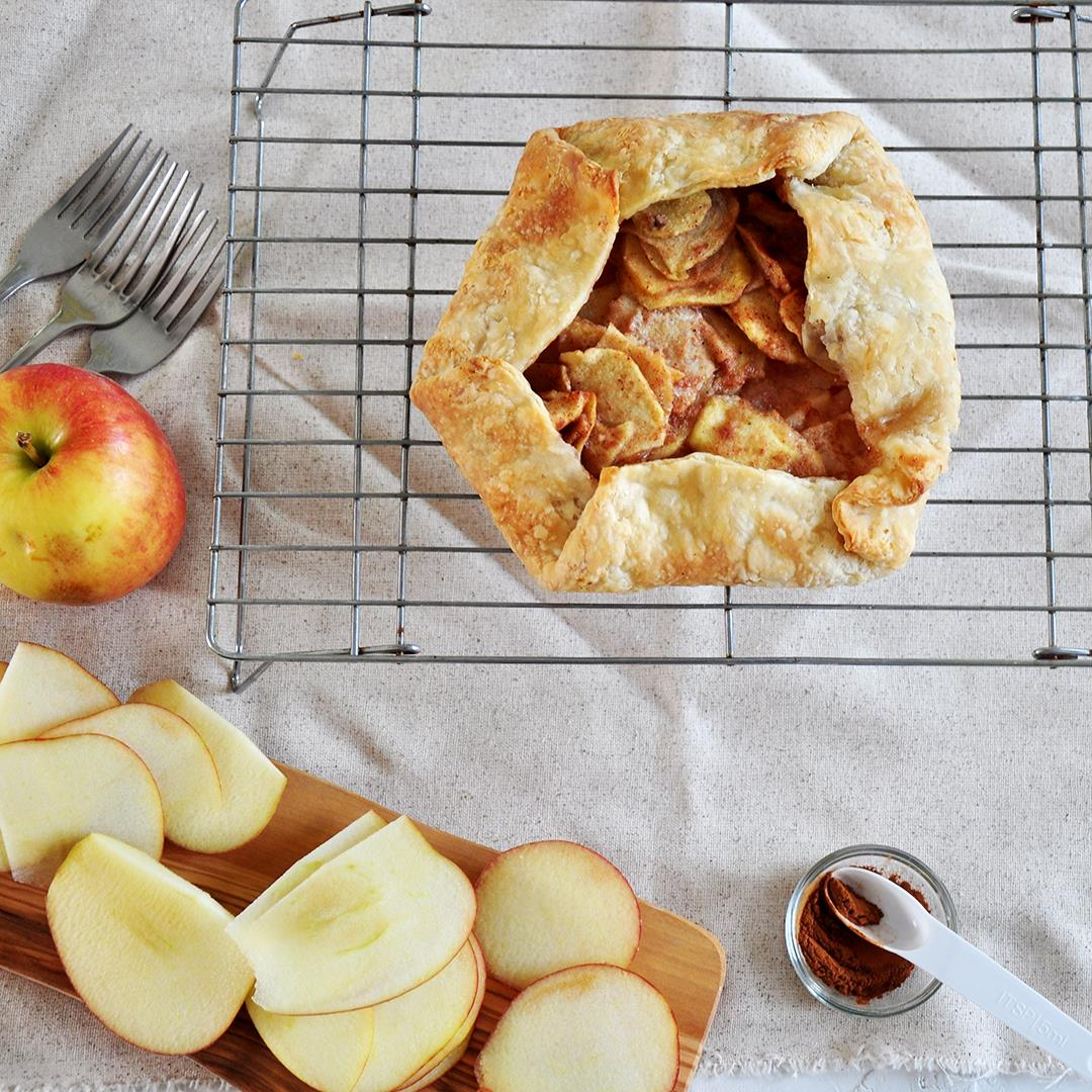 Rustic Apple Crostata