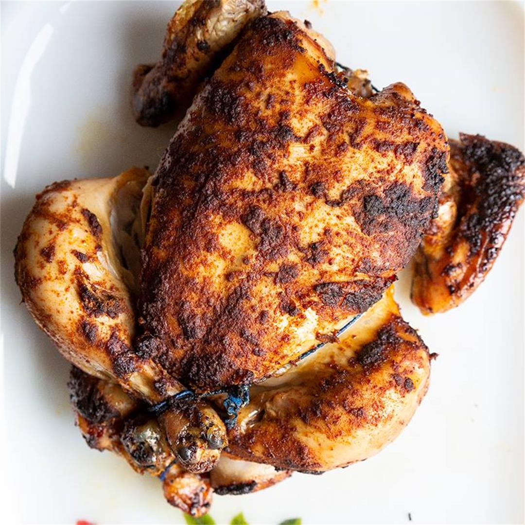 How To Make Rotisserie Chicken in Your Crockpot!