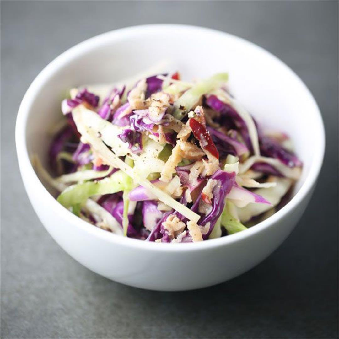 Best 3 ingredient coleslaw recipe ever