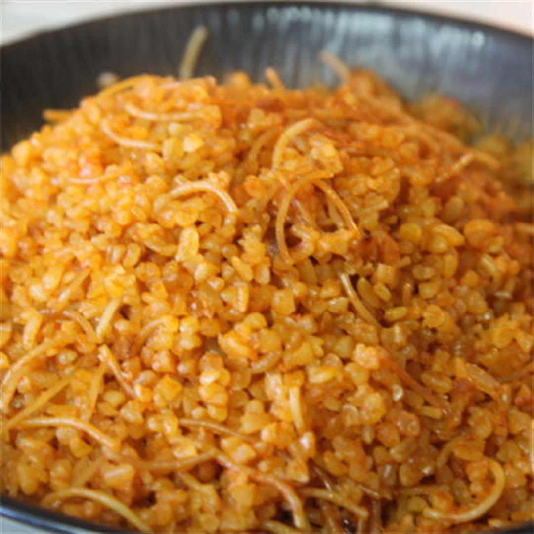 Healthy Bulgur Pilaf
