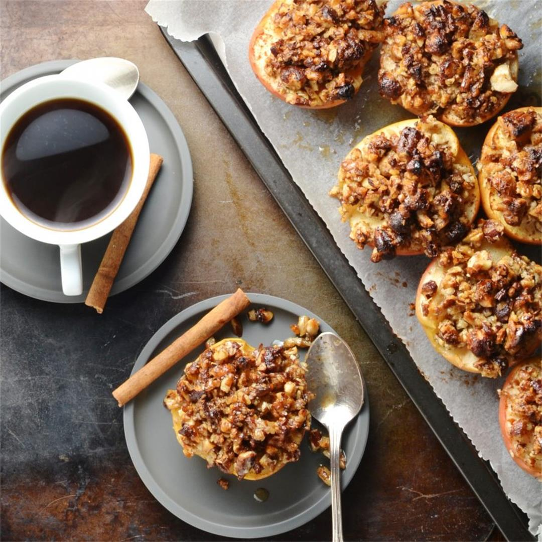Maple Pecan Baked Apples Recipe
