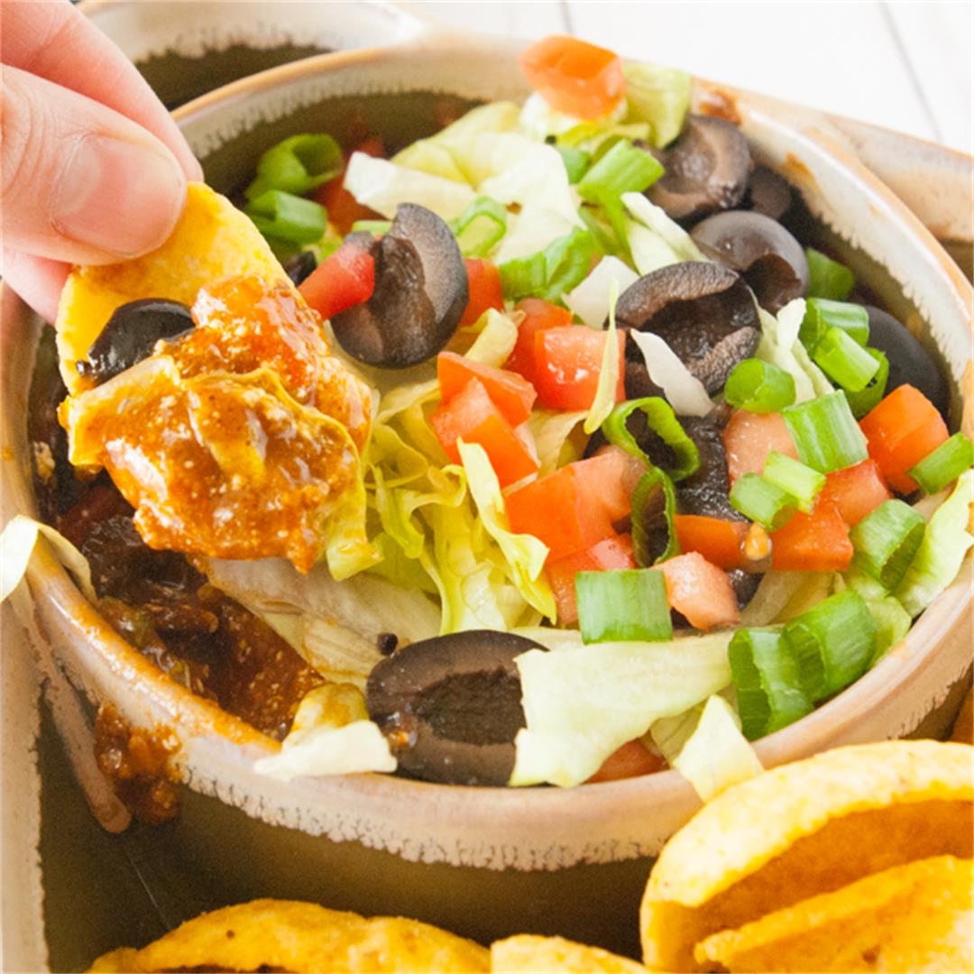 Hot Taco Chili Dip