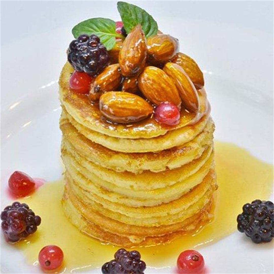 Make an Amazing Pancake Recipe with Almond Milk