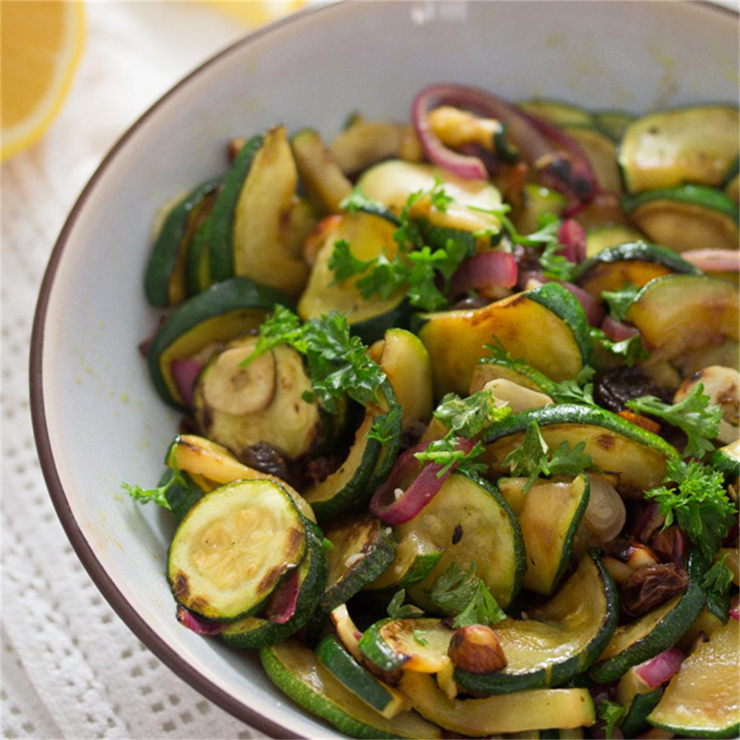 How to Saute Zucchini and Onions