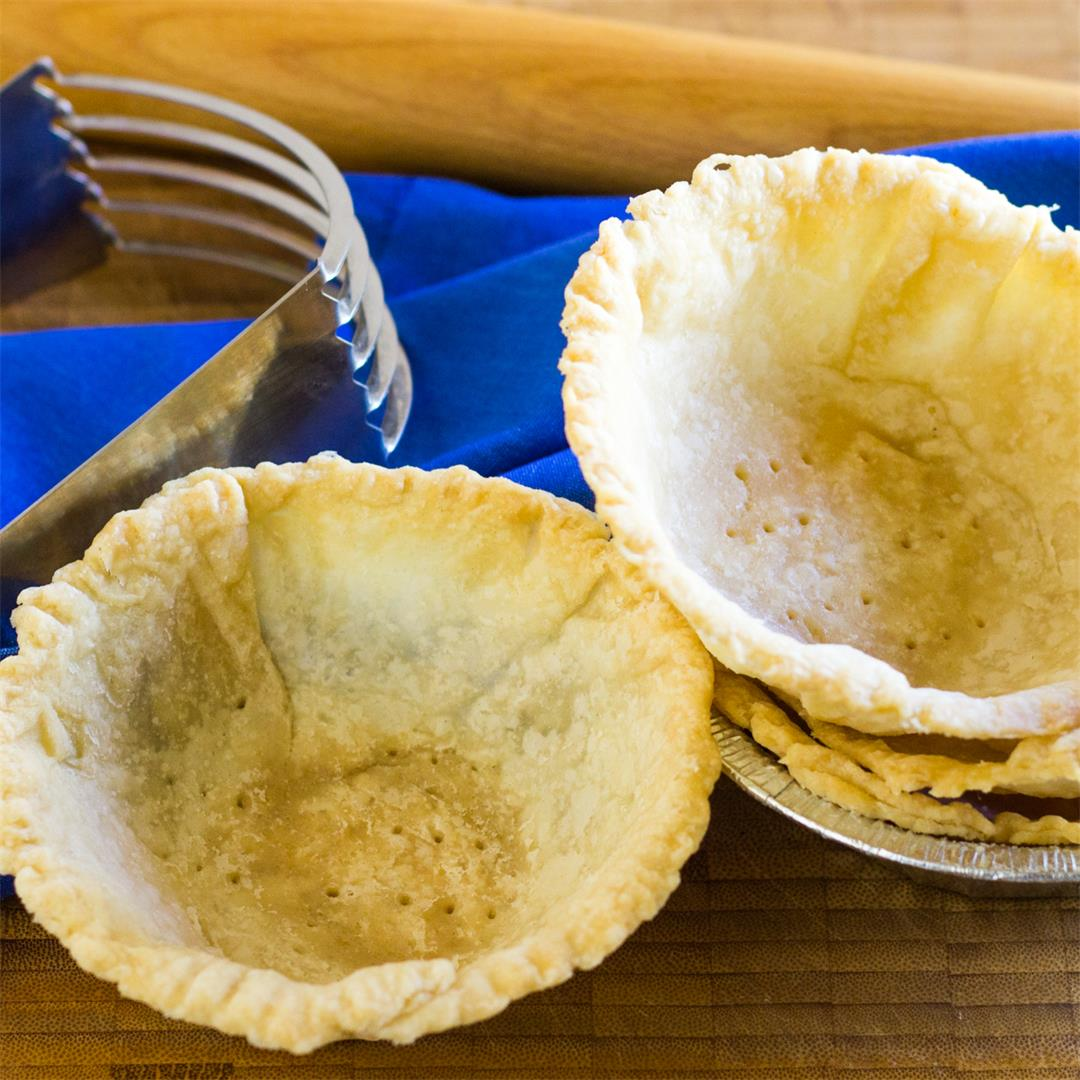 These Pastry Tart Shells are sinfully tender and flaky.