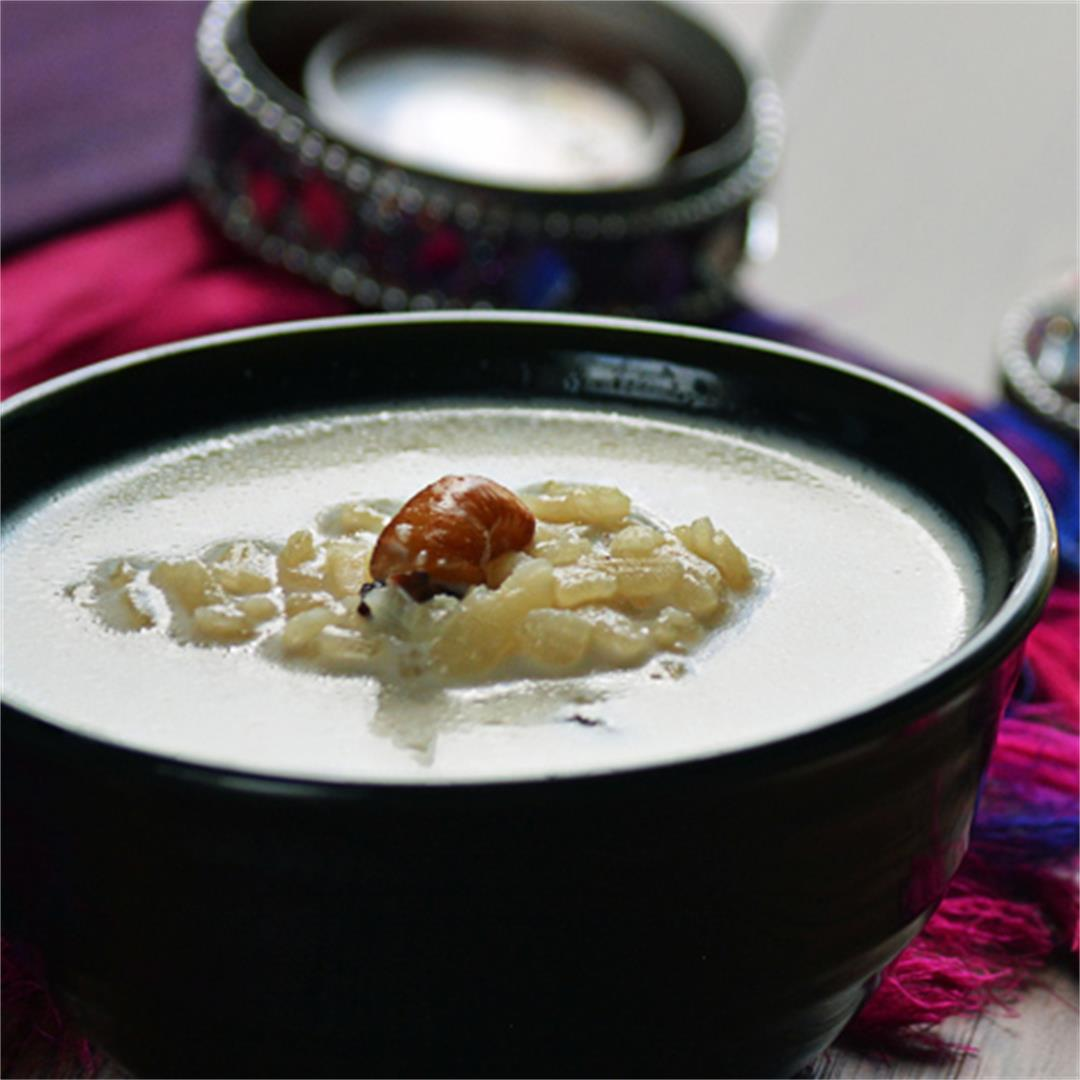Beaten Rice pudding - Aval Payasam