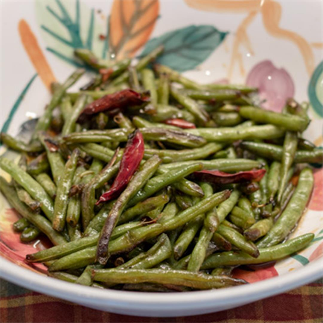 Sweet 'N Savory Green Beans-these are special!