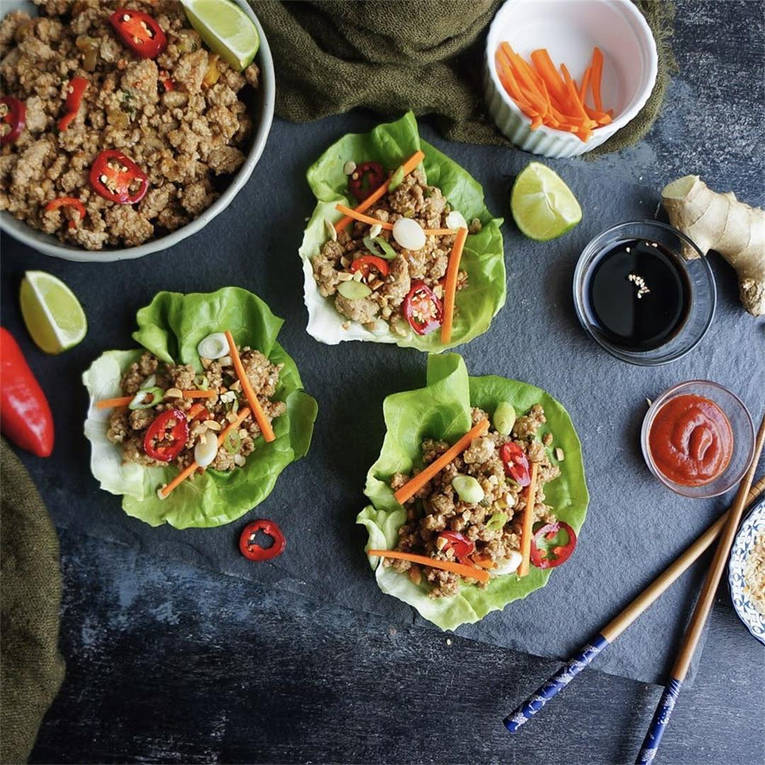 Copycat PF Changs Lettuce Wraps