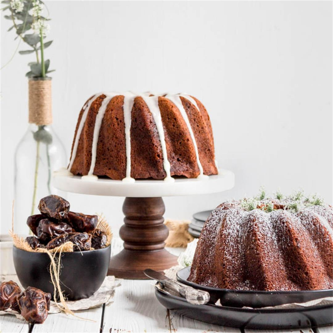 Dates and Coffee Cake