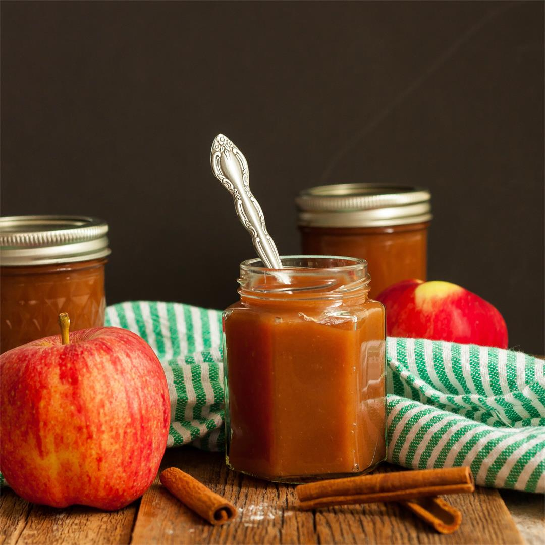 Old-Fashioned Slow Cooker Apple Butter