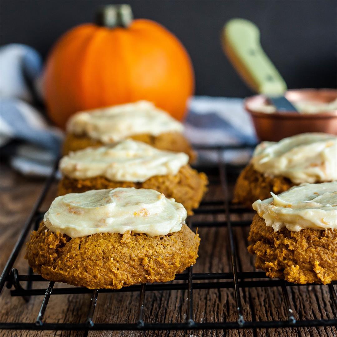 Grandma Dorothy's Soft Pumpkin Cookies