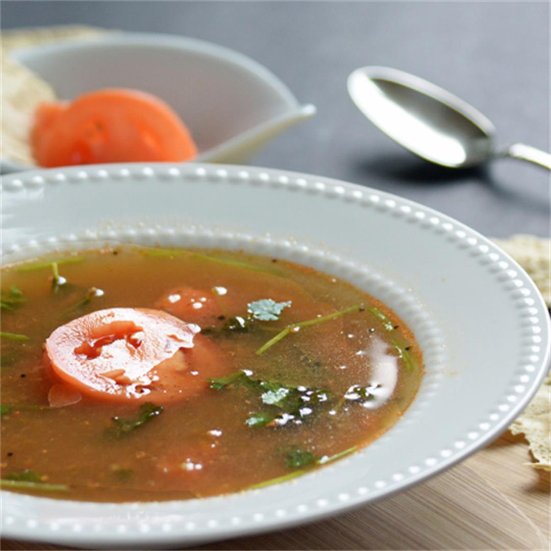 Tomato Rasam.. Comforting dish from South India