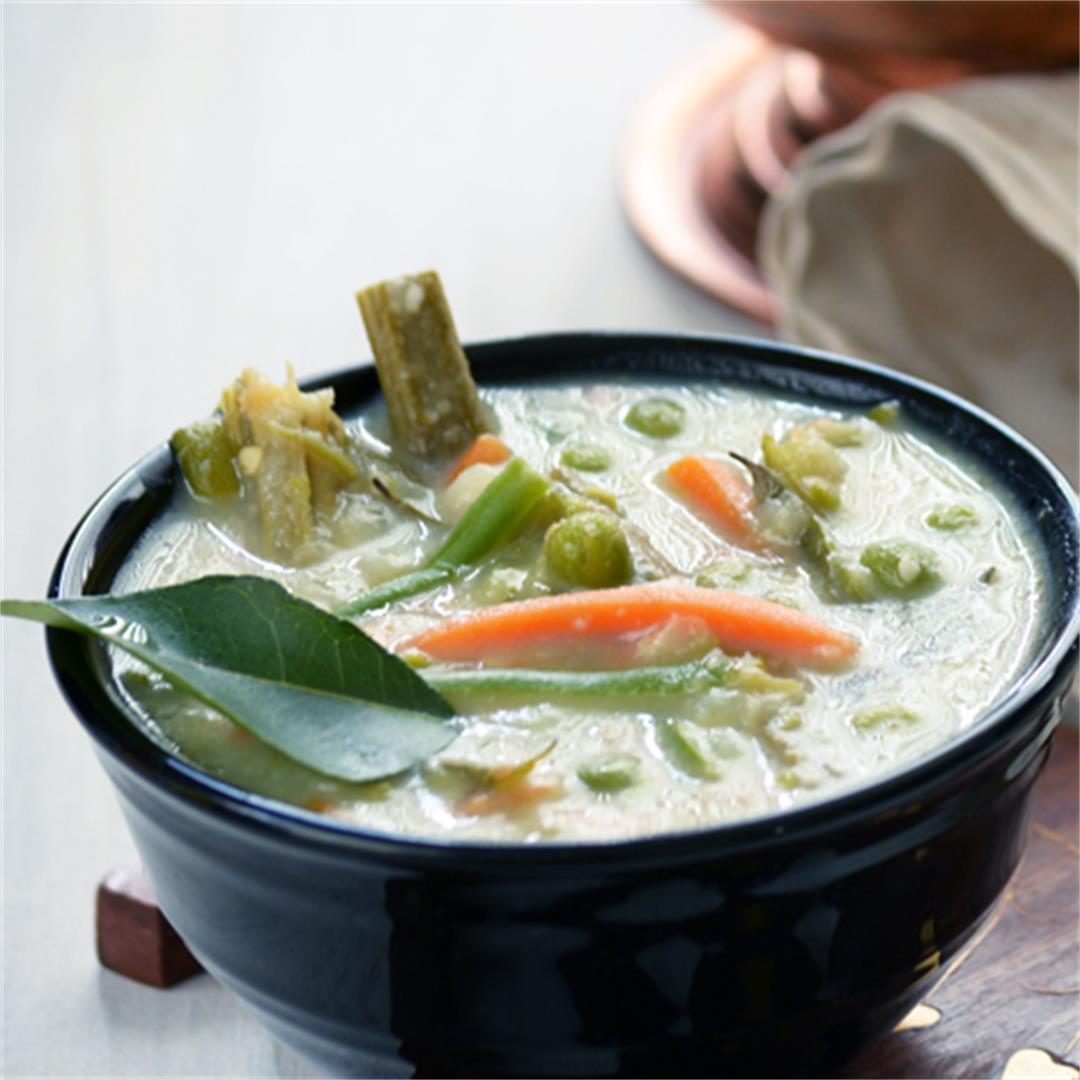 Avial- Mixed vegetabled in Yogurt