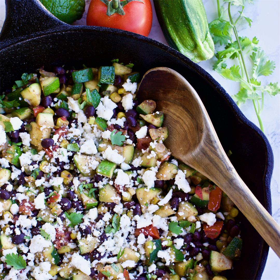 Mexican Veggie Skillet
