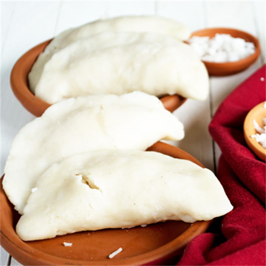 COCONUT STUFFED DUMPLING-Indian breakfast