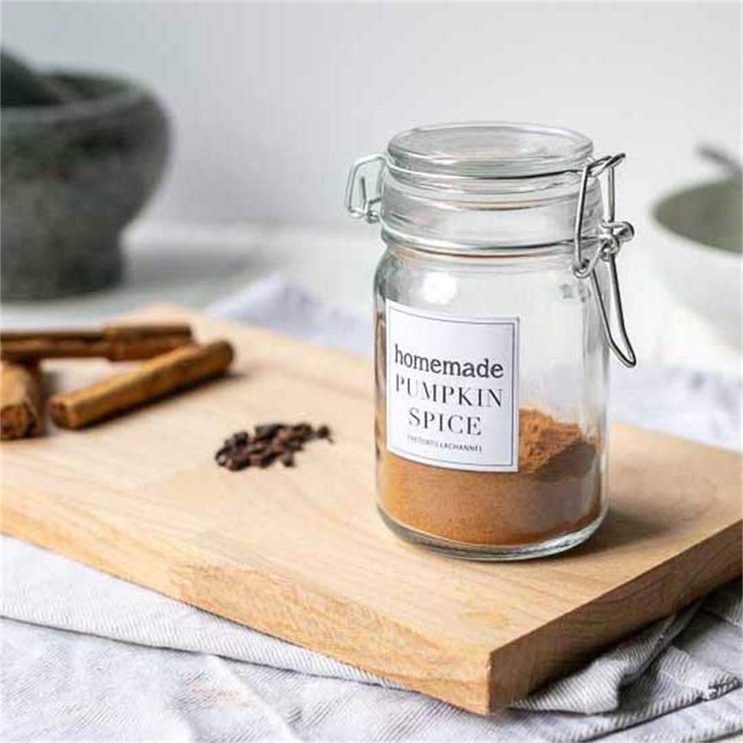 Easy homemade pumpkin spice mix