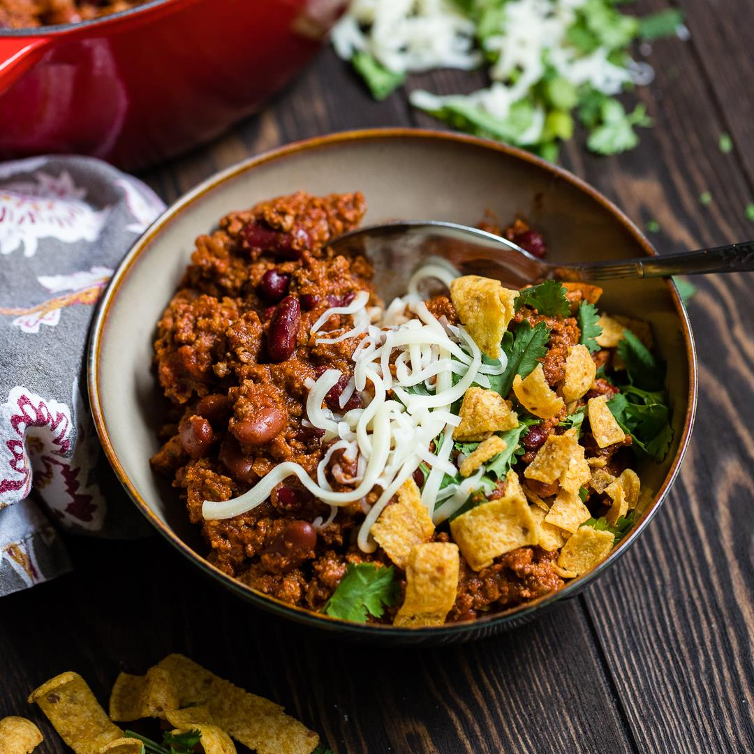 Blue Ribbon Beef Chili