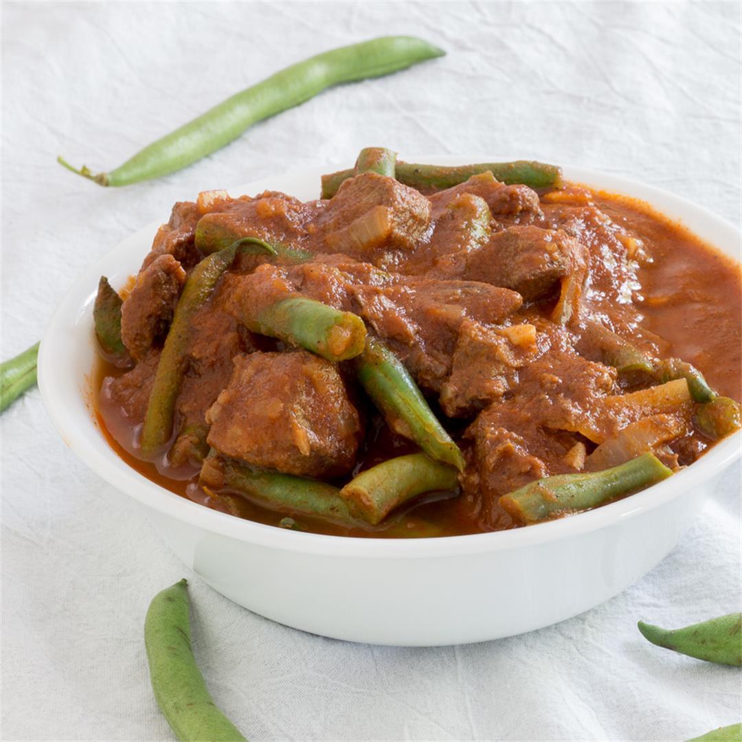 Lebanese Beef and Green Bean Stew