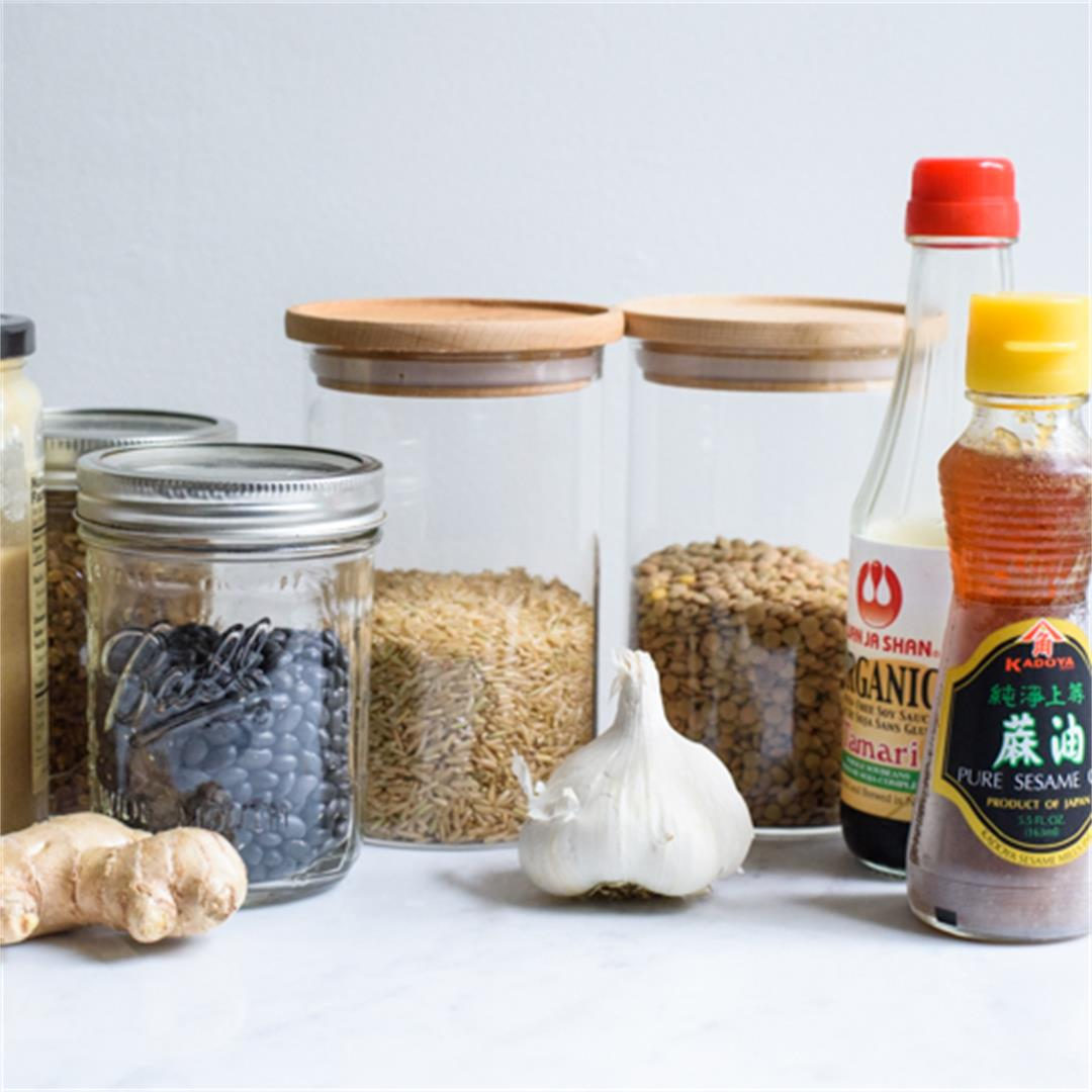 Vegan Pantry Staples to Have On-Hand!