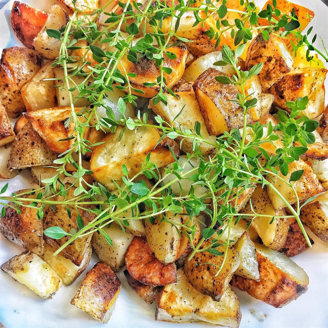 Bacon Fat Fried Potatoes