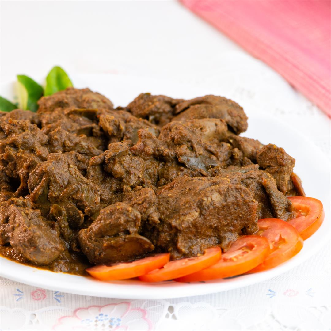 Chicken Liver Curry / Chicken Liver Masala