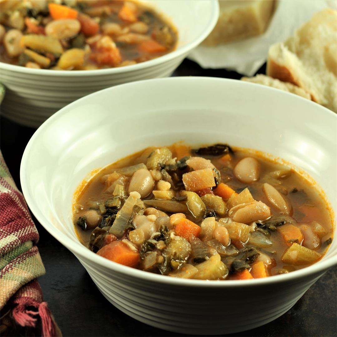 Swiss Chard and White Bean Stew