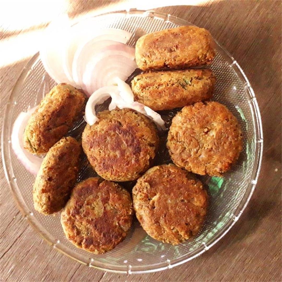 Vegetarian shammi kebab/kabab