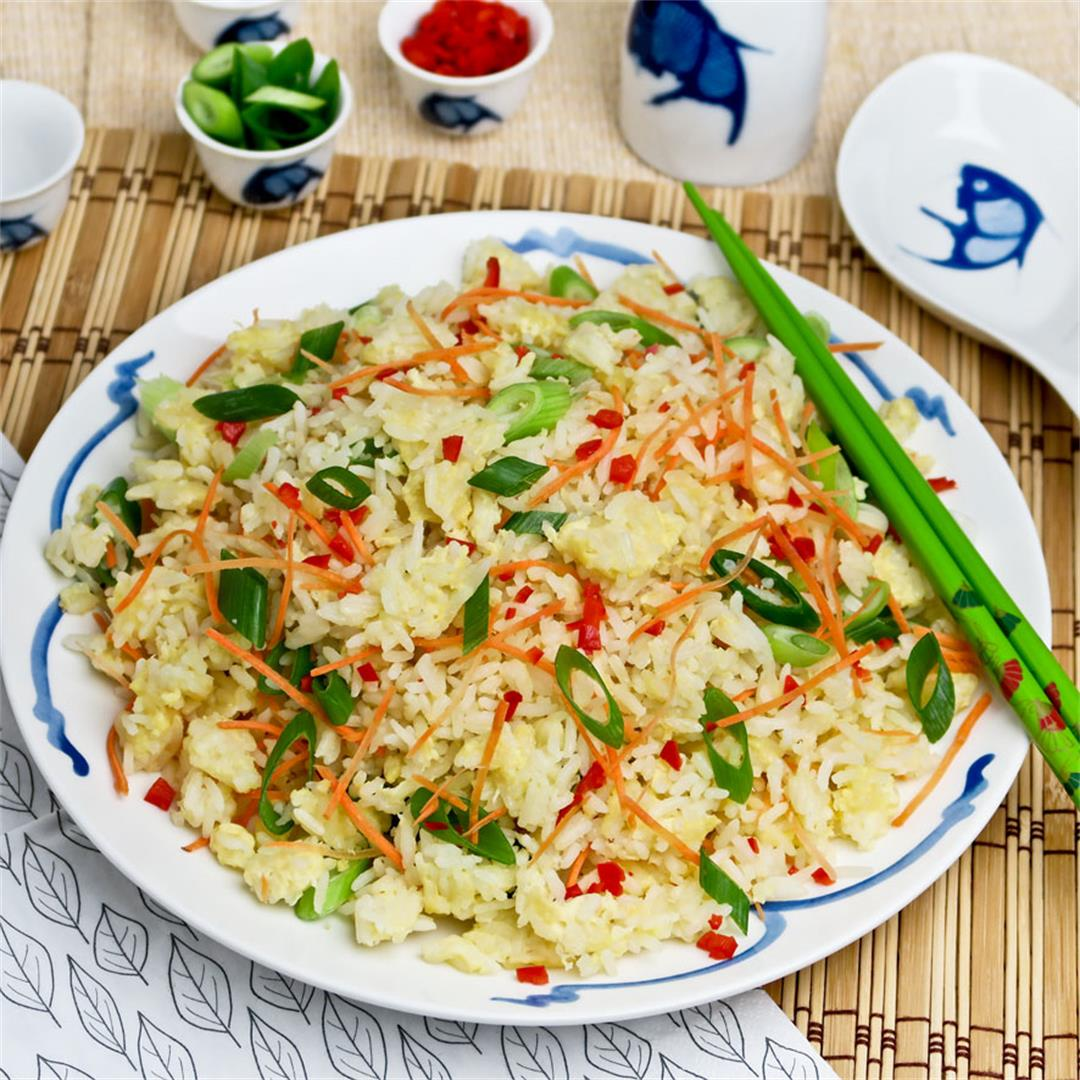 Learn how to prepare mouth-watering, fluffy egg fried rice