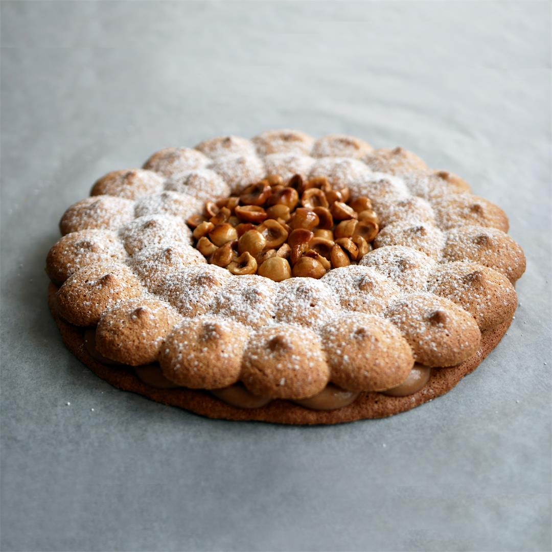 Hazelnut Succès, a very nutty classic French cake