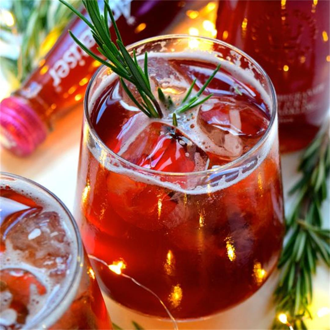 Pomegranate & Rosemary Spritz