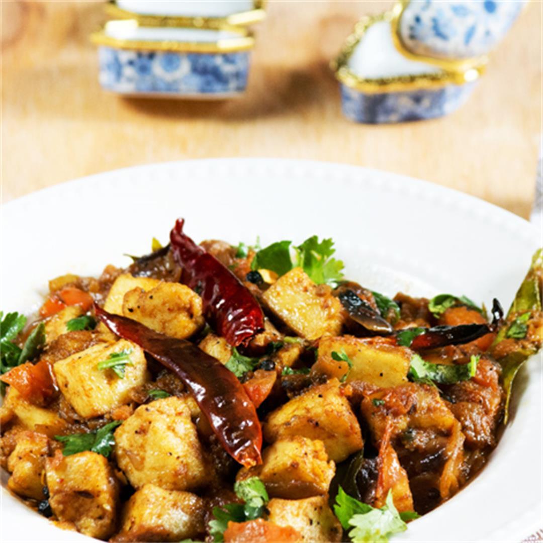Spicy Chettinad Paneer