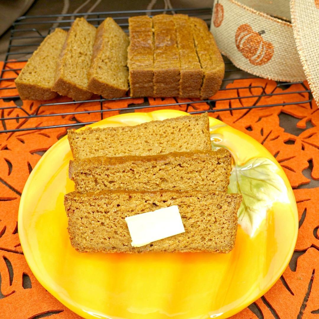Easy Paleo Spiced Pumpkin Bread