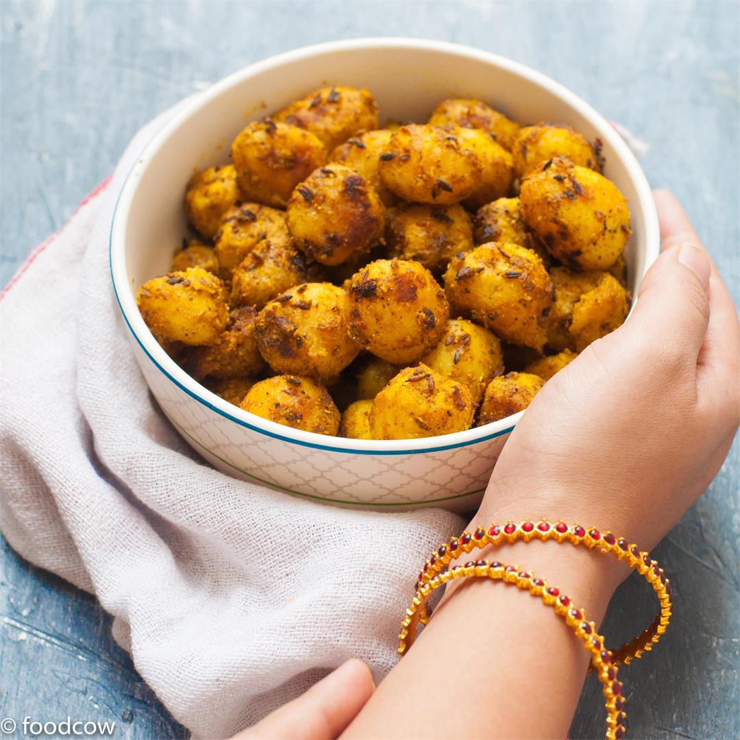 Masala Baby Potato Fry