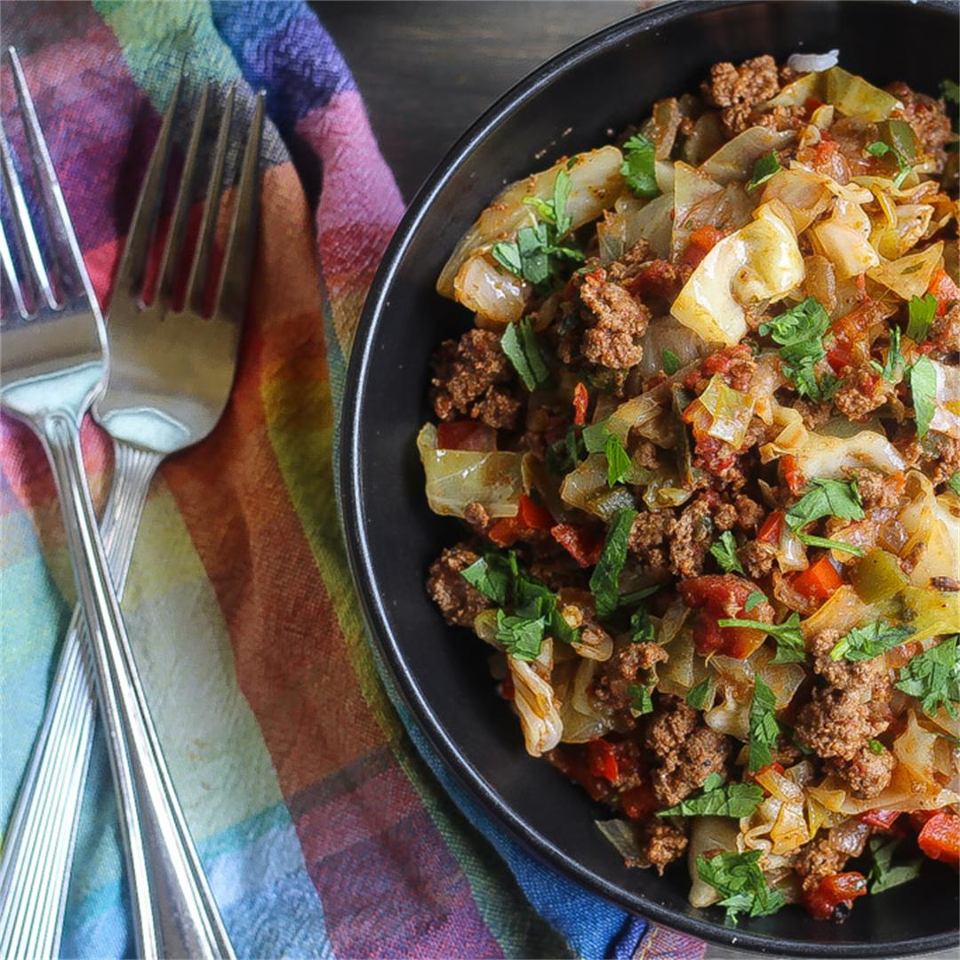 Quick and Easy Beef Cabbage Stir Fry