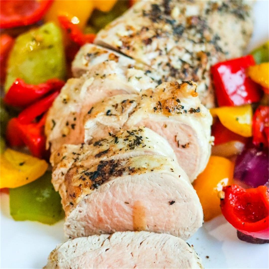 Pan Roasted Pork Tenderloin