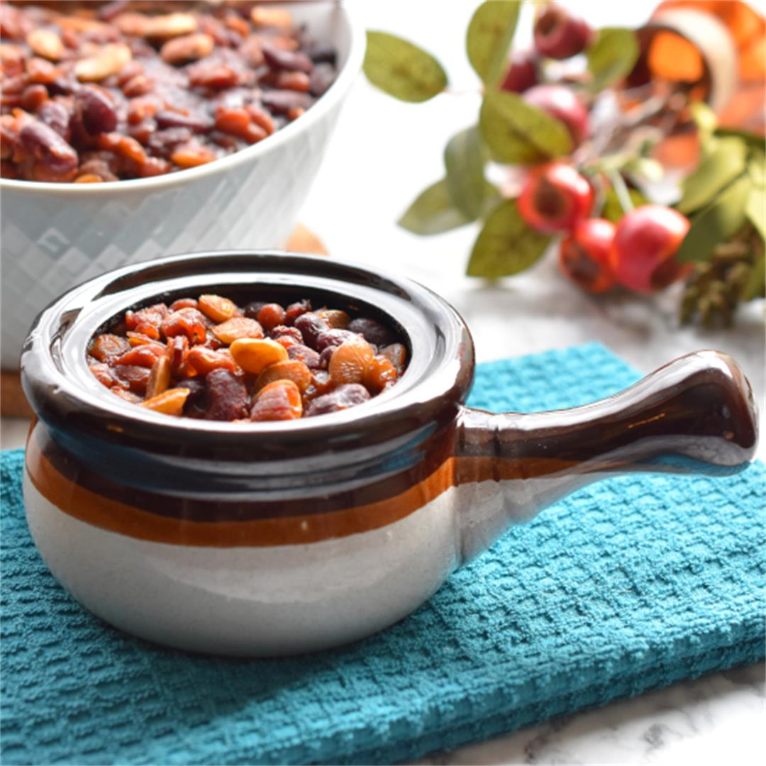 Baked Beans Supreme–Sweet, Tangy, and Perfect for a Large Crowd