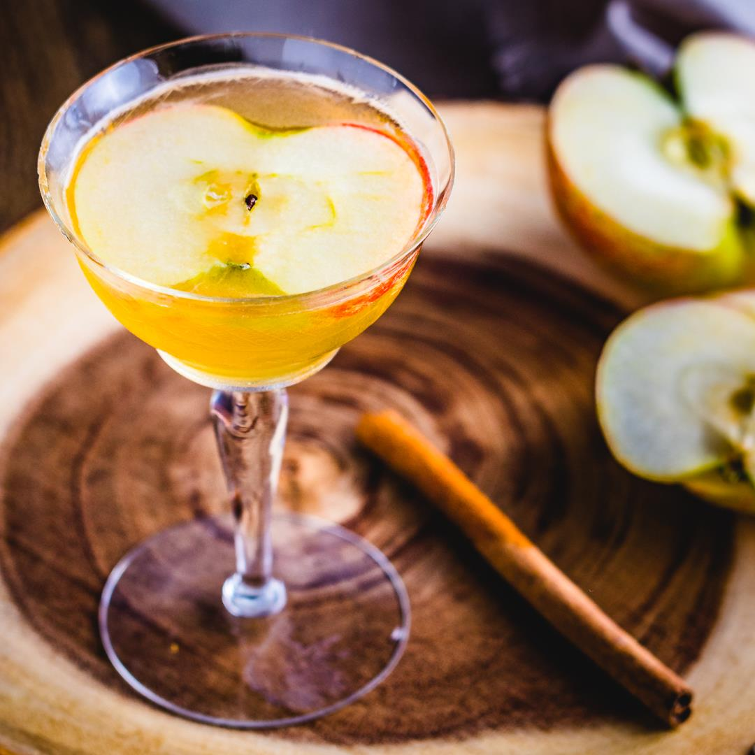Apple Cider Maple Cocktail