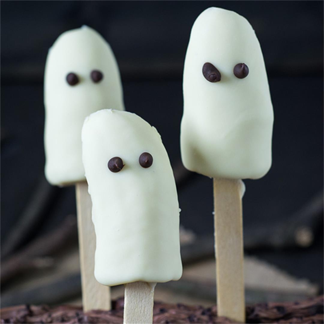 Halloween Recipe: Banana Ghosts