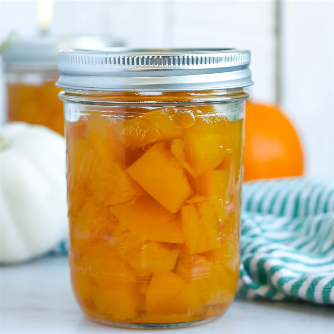 Canning Pumpkin - How to Can Pumpkin