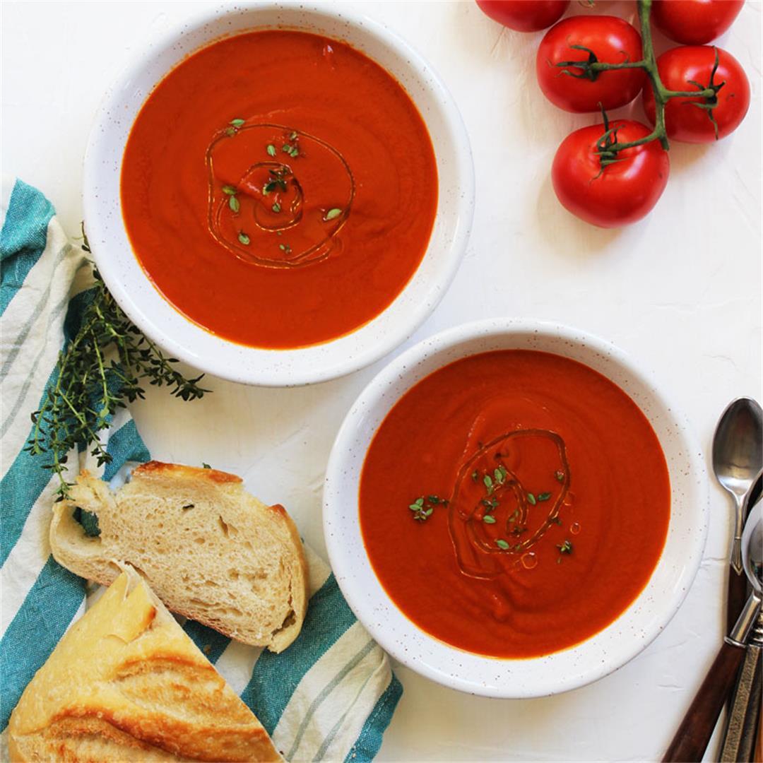 Simply Creamy Tomato Soup