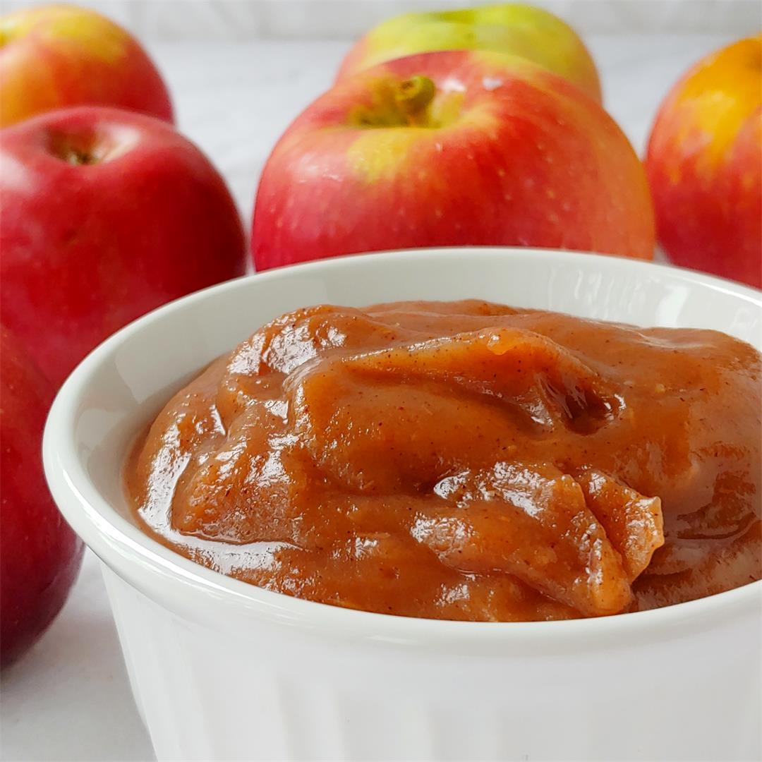 No-Sugar-Added Slow Cooker Apple Butter