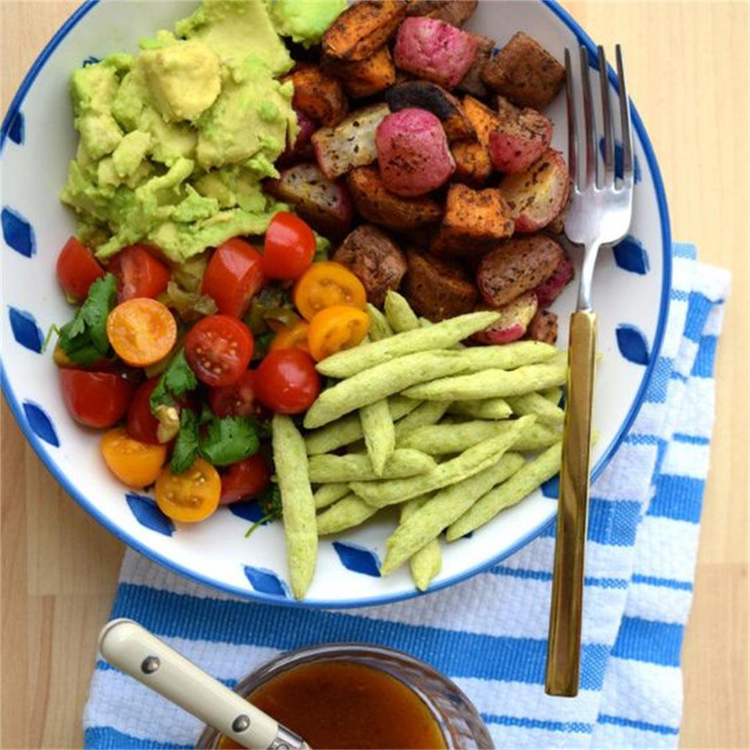 Mexican Roasted Sweet Potato Bowl